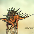 Kentrosaurus Dinosaur by Bob Orsillo