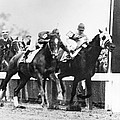 Kentucky Derby Foul Play by Underwood Archives