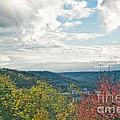 Kentucky Mountains In Autumn by Anne Kitzman