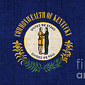 Kentucky State Flag by Pixel Chimp