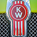 Kenworth Truck Emblem -1196c by Jill Reger