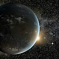 Kepler-62f by Nasa/ames/jpl-caltech
