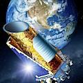 Kepler Space Telescope by Detlev Van Ravenswaay