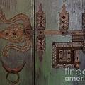 Kerala Door by Mini Arora