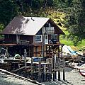 Ketchikan Buildings With Character 2 by Richard Rosenshein