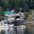 Ketchikan Buildings With Character 1 by Richard Rosenshein