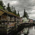 Ketchikan Waterfron by Laurence Levine