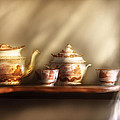 Kettle - My Grandmother's Chinese Tea Set  by Mike Savad