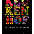 Keukenhof Gardens The Poster by Mike Nellums
