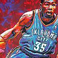 Kevin Durant 2 by Maria Arango