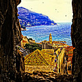Key Hole View Of Dubrovnik 2 by Madeline Ellis