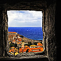 Key Hole View Of Dubrovnik by Madeline Ellis