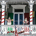Key West Christmas Decorations 1 by Ian Monk