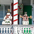 Key West Christmas Decorations 2 by Ian Monk