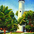 Key West Lighthouse by Shelia Kempf