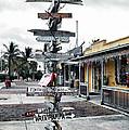 Key West Wharf by Ellen Heaverlo