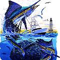 Keys Sail by Carey Chen