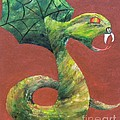 Khiel...the Snake by JoNeL Art