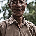 Khmer Peasant by Thierry CHRIN