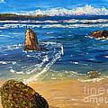 Kiama Beach by Pamela  Meredith