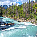 Kicking Horse River In Yoho Np-bc by Ruth Hager