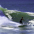 Kicking Up Water by Joe Geraci