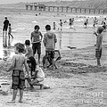 Kids At Beach by Bill Hamilton
