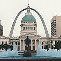Kiener Plaza - St Louis Missouri by S Mykel Photography