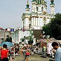 Kiev Andreyevsky Spusk1 by Leonid Rozenberg