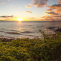 Kihei Sunset Panorama by Brad Scott
