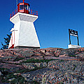 Killarney Ontario Lighthouse by John Jacquemain