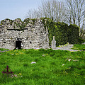 Kilmore Church Ruins - Founded By St Patrick - Ballina Co Mayo by Bill Cannon