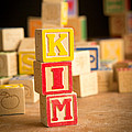 Kim - Alphabet Blocks by Edward Fielding