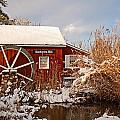 Kimberton Mill After Snow by Michael Porchik
