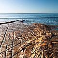 Kimmeridge Bay Seascape  by Matthew Gibson