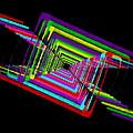 Kinetic Rainbow 17 by Tim Allen