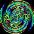 Kinetic Rainbow 26 by Tim Allen