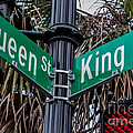 King And Queen Street by Jerry Fornarotto
