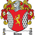King Coat Of Arms I Dublin  by Heraldry