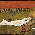 King Hobgoblin Sleeping by Hugo Simberg