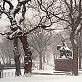 King Jagiello In A Blizzard by Cornelis Verwaal