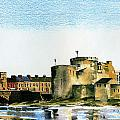 King Johns Castle Limerick by Val Byrne