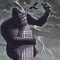 King Kong Plane Swatter by Martin Davey
