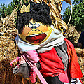 King Of Hearts Scarecrow By Diana Sainz by Diana Raquel Sainz