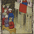 King Of Navarre At Paris by British Library