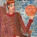 King Of Pentacles by Sushila Burgess