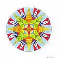 Kingdom Mandala by Silvia Justo Fernandez