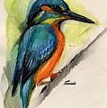 Kingfisher by Angel Ciesniarska