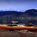 Kings Beach - Okanagan Lake - Kayaking by Guy Hoffman