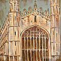 Kings College Chapel by Leigh Banks